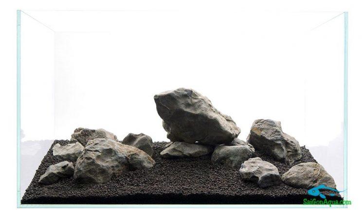 Cách làm hồ thủy sinh đá 4