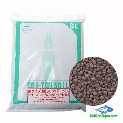 phân nền nuôi tép cảnh _Ebi-Ten-Soil